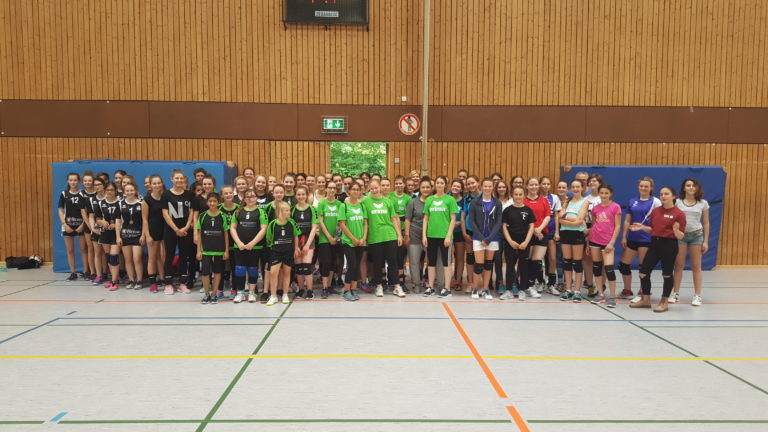 Volleyball-Jugendturnier war ein Volltreffer