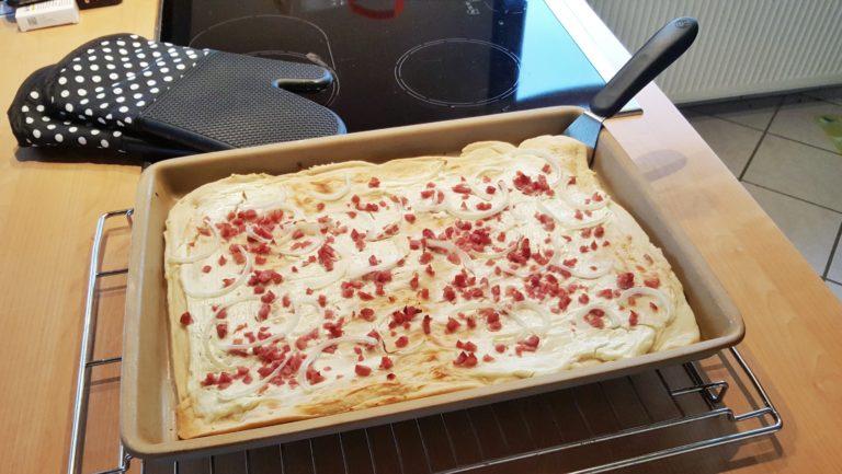 Flammkuchen mit dem Ofenzauberer von Pampered Chef