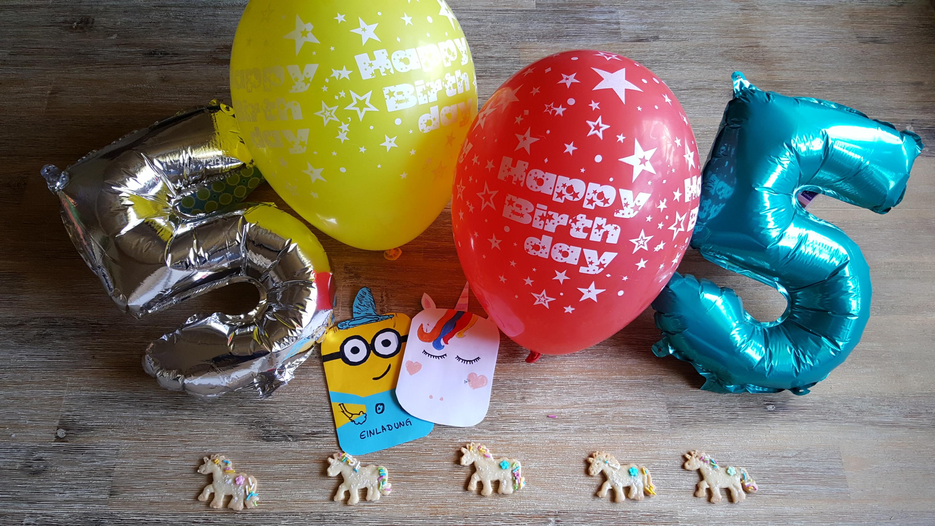 Kinder Geburtstag Minions Und Einhorner Dorfmama De