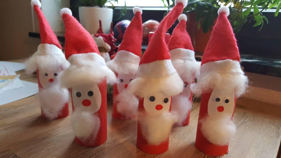 Basteln Mit Klopapierrollen Zu Weihnachten Dorfmama De
