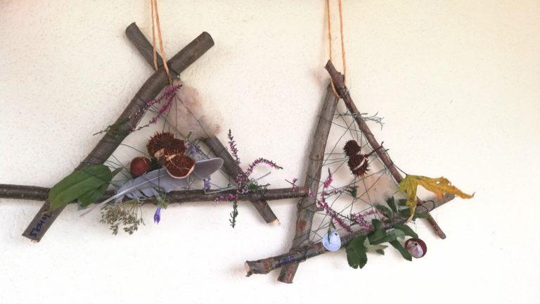 Figuren basteln mit kastanien - Basteln mit naturmaterialien ...