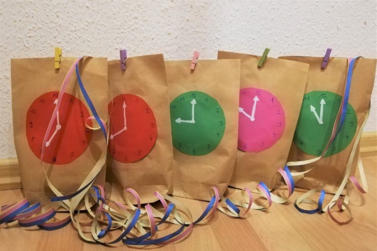 Silvester mit Kindern: Countdown Bags